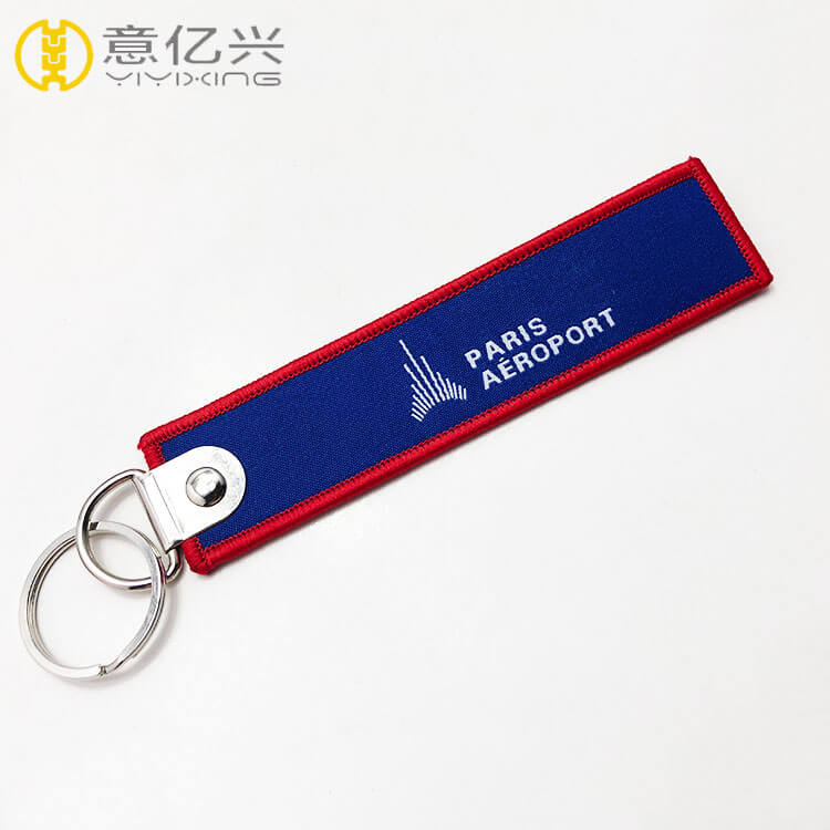 personalized woven keychains