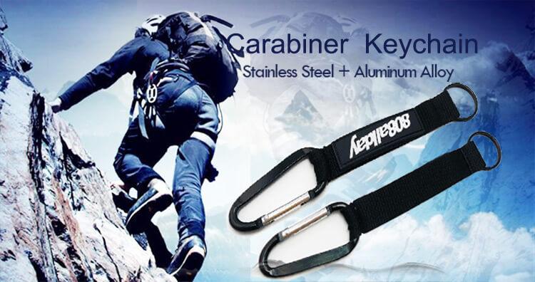 edc carabiner keychain banner