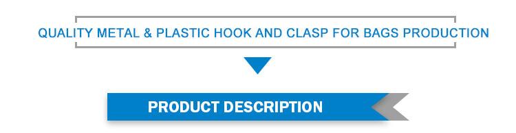 Metal and plastic hook
