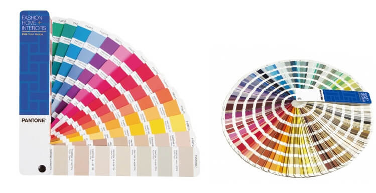 Lanyards Printing Pantone color