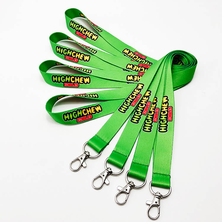 Custom Sublimation Printing Polyester Neck Lanyards