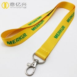 Wholesale Heat Transfer Printing Logo Polyester Cheap Lanyard