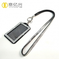 Wholesale Fashion New Bling Rhinestone Lanyard With Id Badge Holder