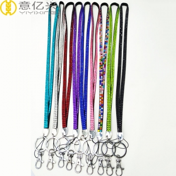 Fashion Bling bling Mobile Phone Neck Rhinestone Lanyard