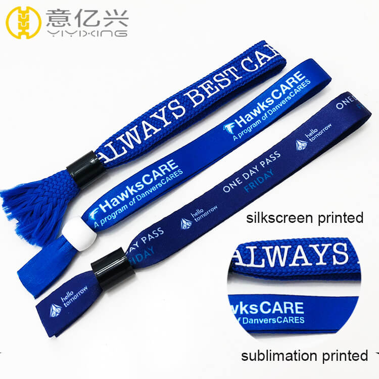 Promotional Cheap Custom Printing Polyester Keychains Wrist Lanyard