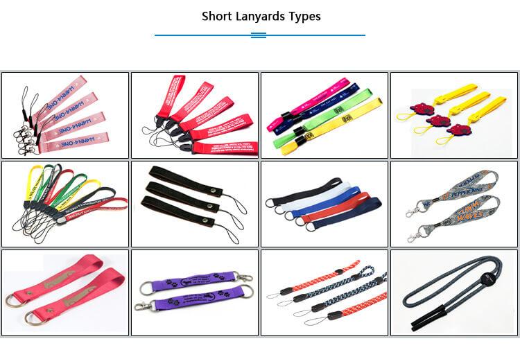 short lanyard type