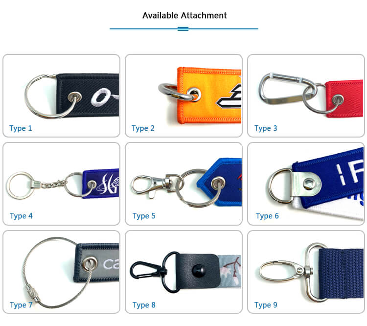 remove after flight keychain Accessory type