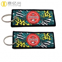 Top sale promotion gifts durable woven jet tags custom