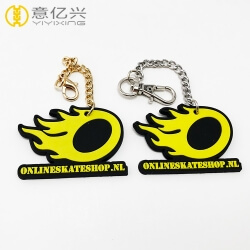 Manufacturer Wholesale 2d or 3d Rubber Custom PVC Keychains