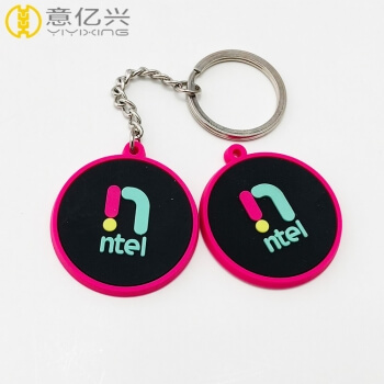 Promotional wholesale custom soft pvc keychain