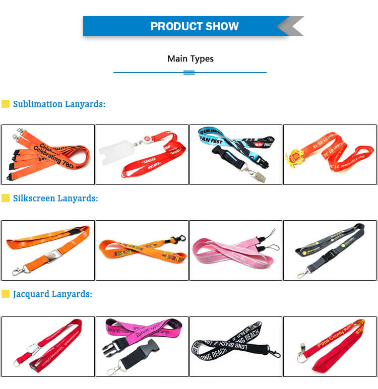 Custom Neck Lanyard product show