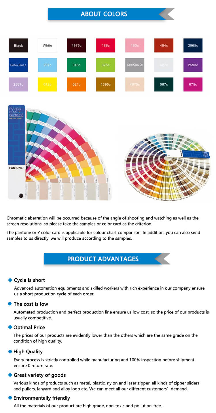 Pantone color card