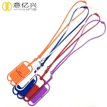 Good quality wholesale silicone phone lanyard badge holder