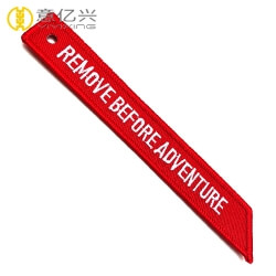 Wholesale cheap design remove before flight tag on jacket