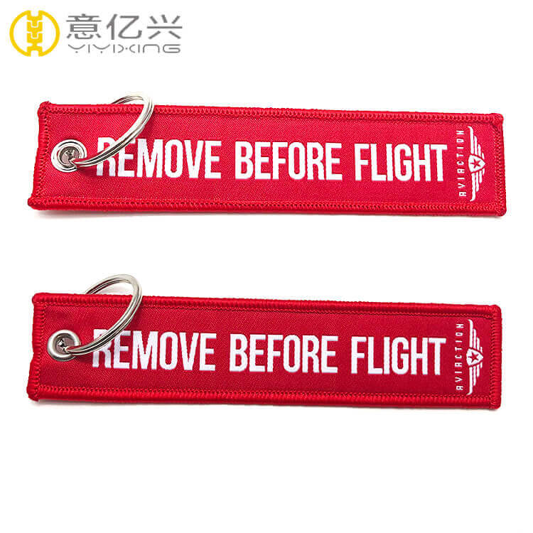 red remove before flight tag