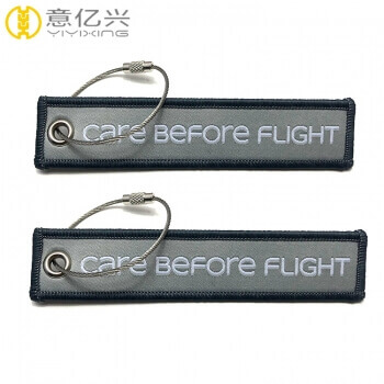 Custom Flight Tag Keychain
