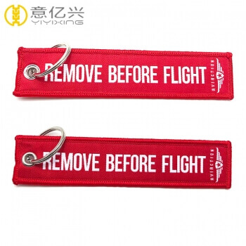flight tag keychain