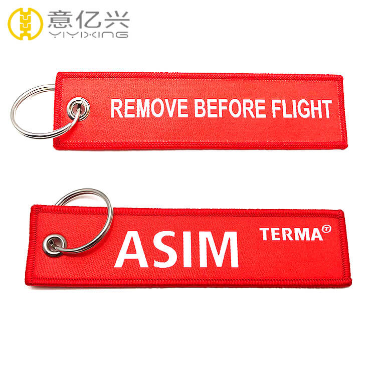 Kiss Me Before Flight Keychains