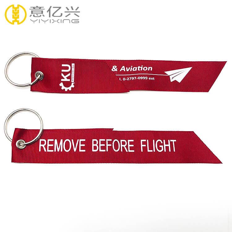 Remove Before Flight Keyrings