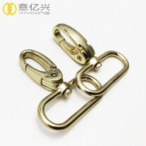 Custom zinc alloy swivel spring snap hook for men bag