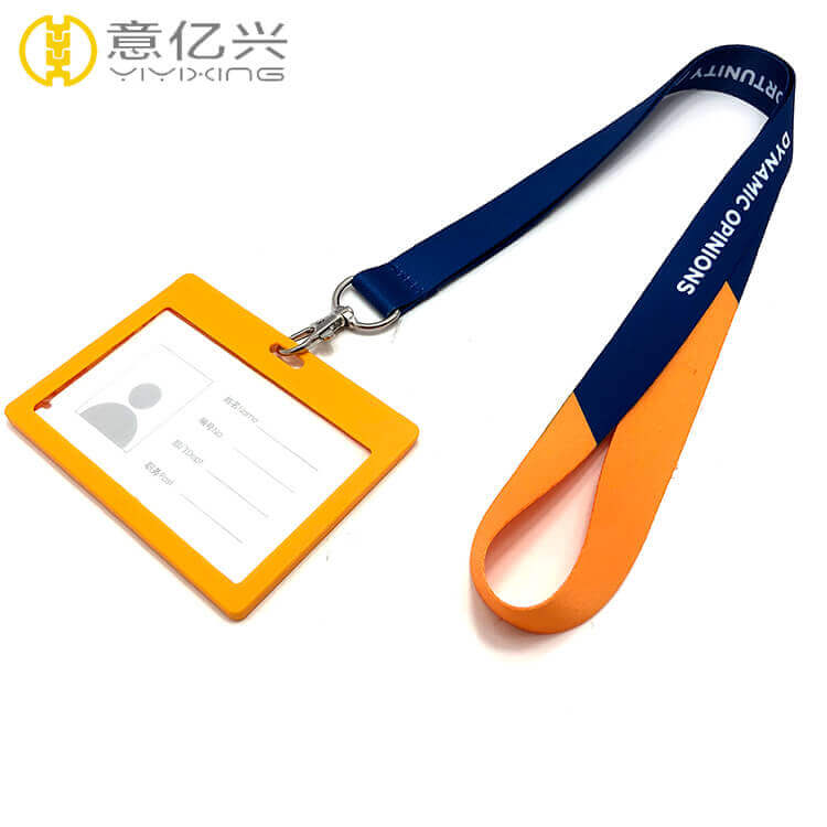 Wholesale attractive id badge lanyard with custom logo