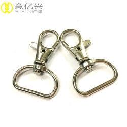 China factory nickel free direct cheap mini swivel snap clip
