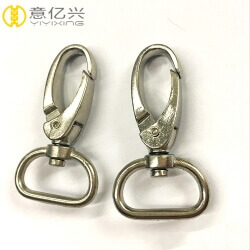 Manufacturer wholesale zinc alloy swivel hooks for purses