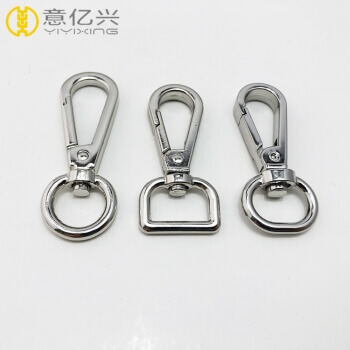 2019 new style dog leash hook metal clip swivel snap hook for straps