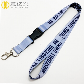 Promotional high quality custom polyester personalised lanyards
