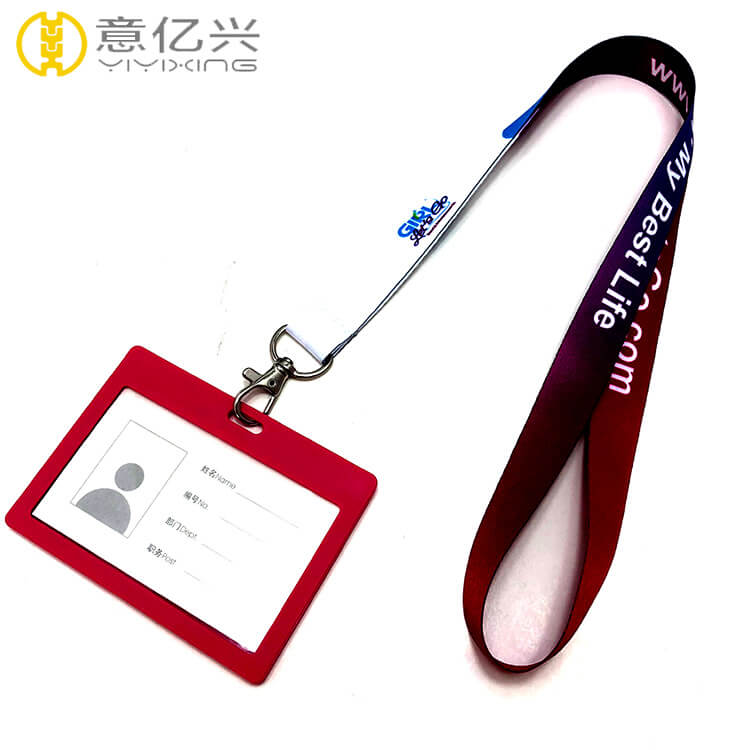 id badge lanyard