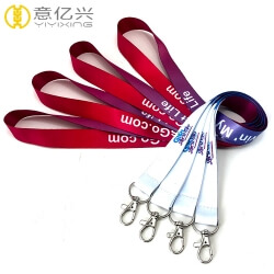 Custom company event wholesale lanyards with item logo
