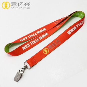 Customization Orange Green Color Factory Price Company Lanyards