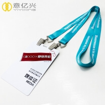 lanyards with logo custom printing neck lanyard for badges