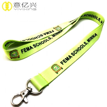 Order lanyards With Custom Design Sublimation Printed Lanyard