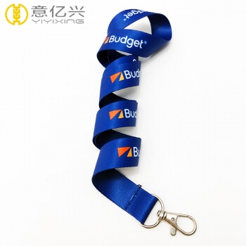 custom logo lanyards