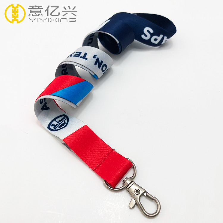 Wholesale custom printed imprinted lanyards for promotion