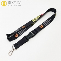 Personalized printed heat transfer adjustable lanyard for Christmas gift