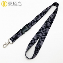 Wholesale sublimation lanyard for custom sports lanyard string