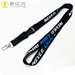 2019 Custom sublimation logo adjustable cheap personalized lanyards