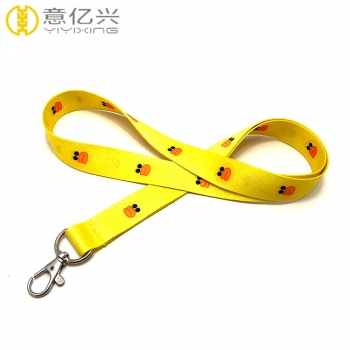 Best selling 20mm*900mm size cute lanyards for badges