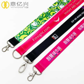 Free sample various styles factory directly lanyard custom design