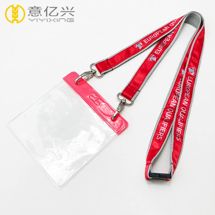 Funny Personalized Breakaway Adjustable Cute Lanyards for Badges