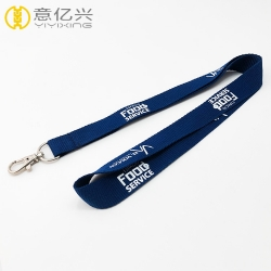 China College Personalized Custom Sports Lanyards With Lobster Hook