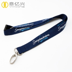 Promotional Silkscreen Custom Name Branded Lanyards With Logo