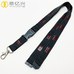 2019 Cheap custom silk screen logo decorative lanyards