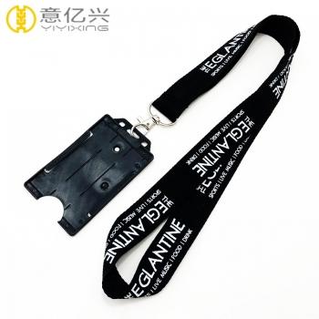 lanyard badge holder