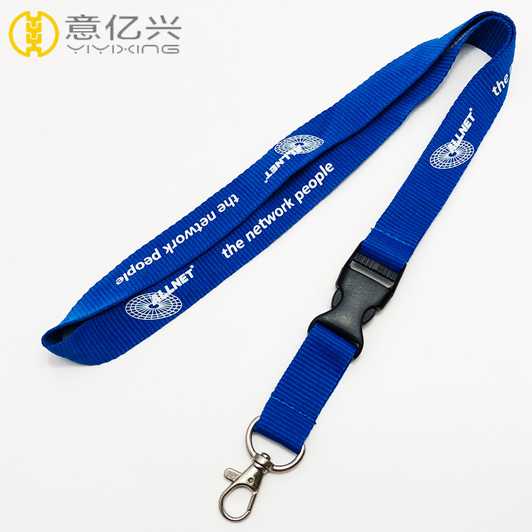 personalized lanyards cheap printing neck lanyard with metal clip