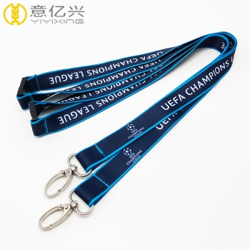 Lanyard store hot silk screen custom cheap lanyard with logo
