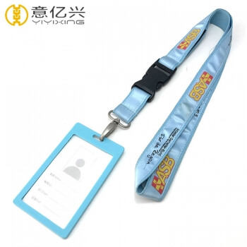 Cheap Custom Different Material Printing Lanyard and Id Holder