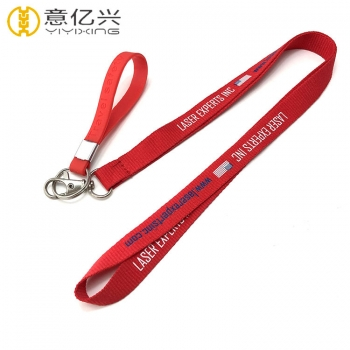 Professionally designed lanyards screen print lanyard keychain holder